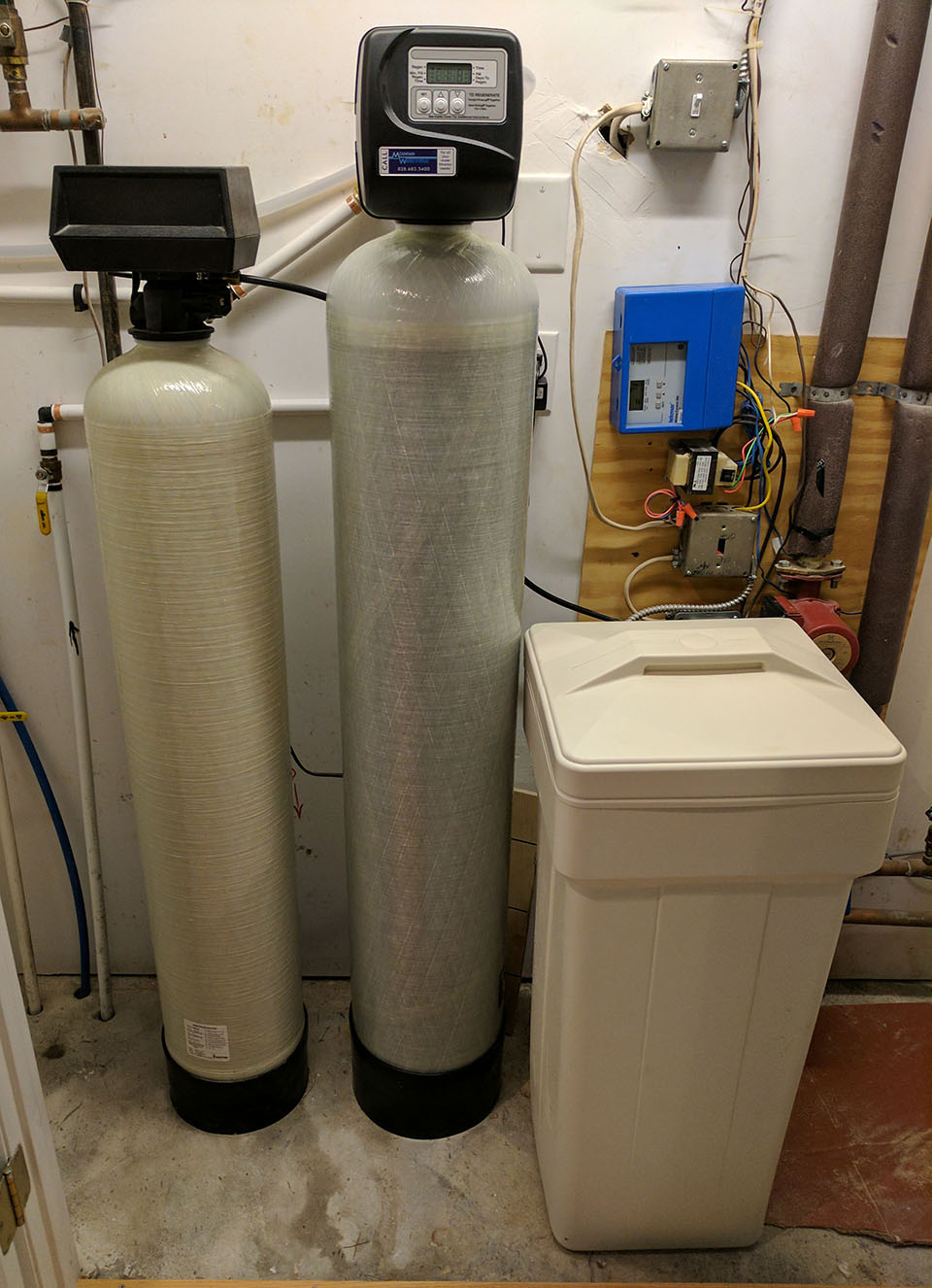 Weaverville Family Removes Sulfur Odor With Carbon Filter