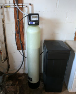 Hard water problem fixed with new water softener