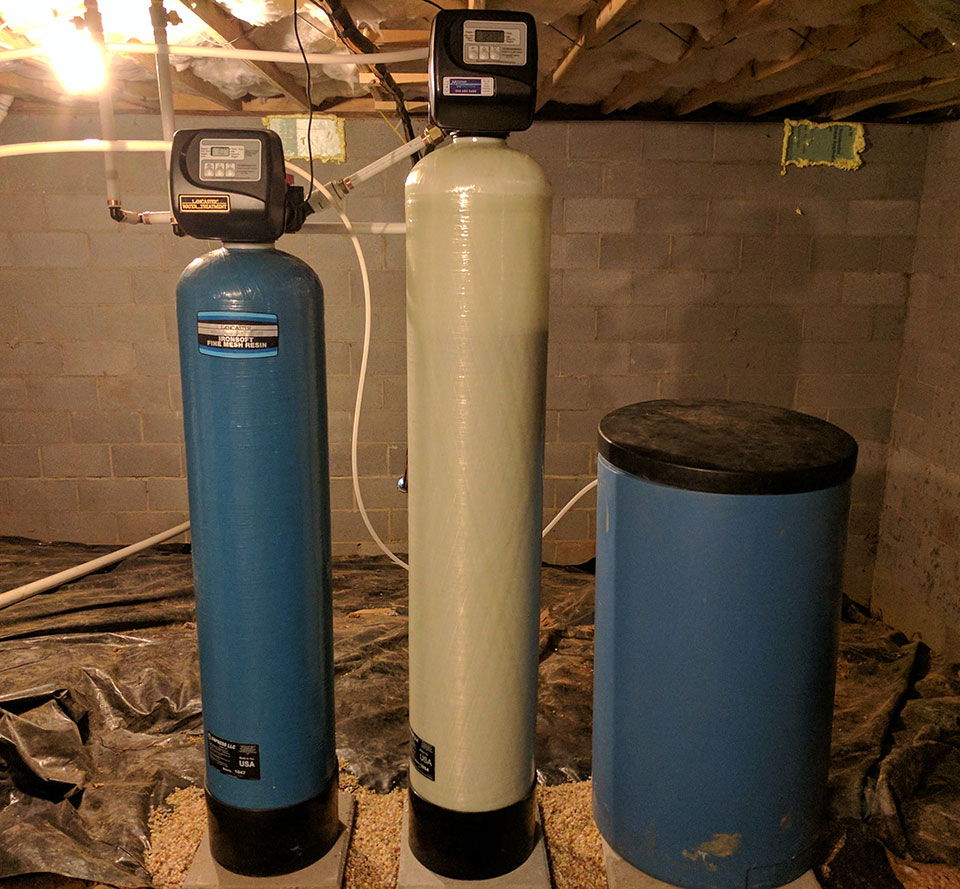 Weaverville Customer Gets Iron Filter