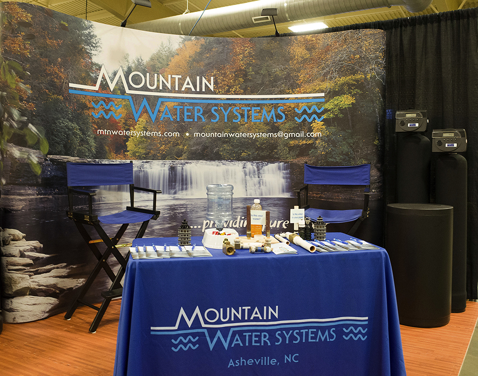 We had such a great turn out at our booth @ the Western North Caroline Home Expo this past weekend. We explain to all the people that came by and talked with us about our American Made products. Many of them were very interested in improving the quality of their water. Call us @ 828-683-5400
