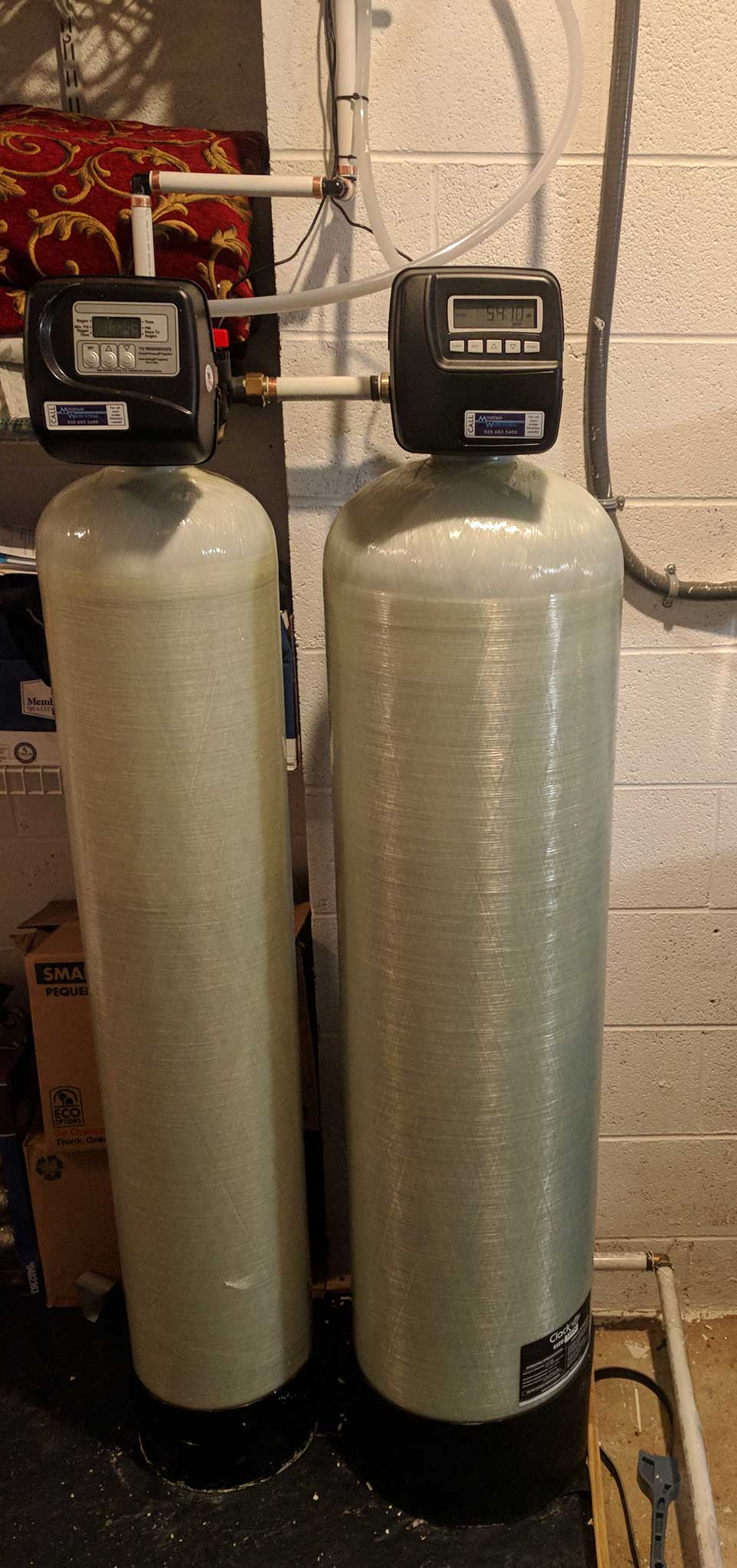 Customized Carbon Filter Built To Remove Sulfur Smell