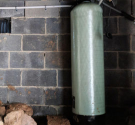 Asheville Customer Dispise Discolored Water Gets Iron Filter