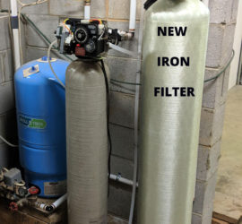 New Iron Filter Upgrade Installed In Weaverville