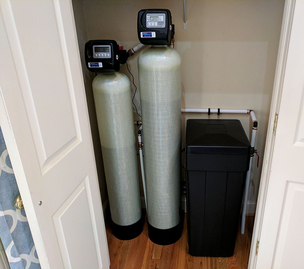 Water Softener & Iron Filter Solves Hard Water In Candler