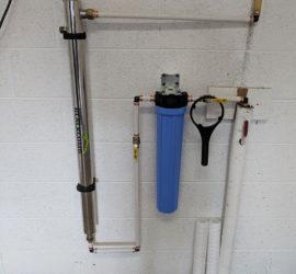 UV Filter Removes Bacteria