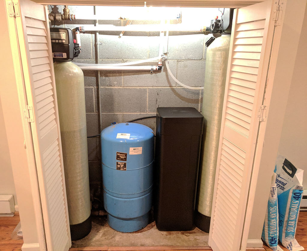 New Customer Gets Water Softener For Hard Water In Asheville