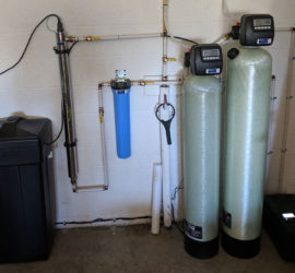 Fairview Customer With Spring Water Gets Filtration System