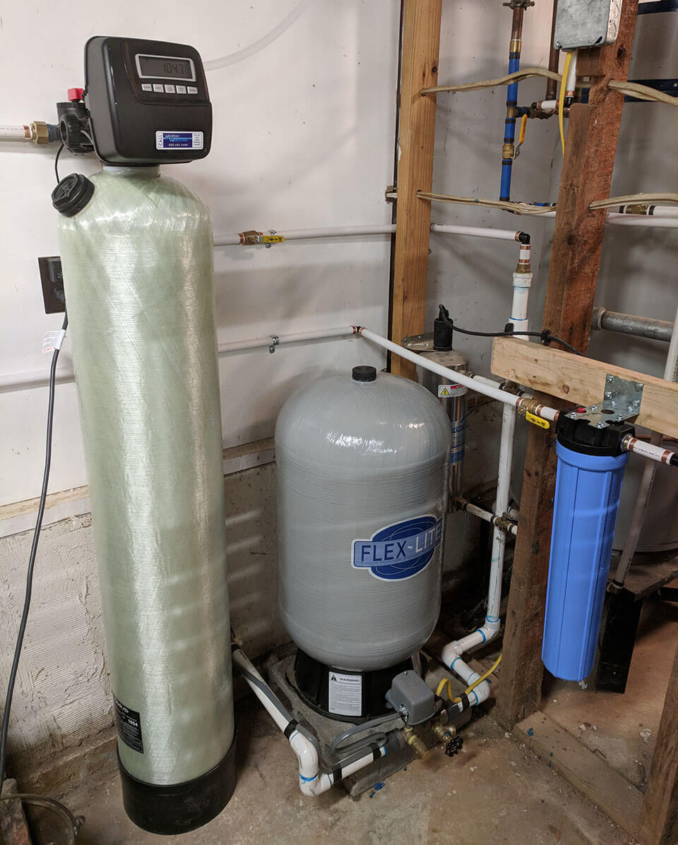 Barnardsville customer neutralizes acidic water