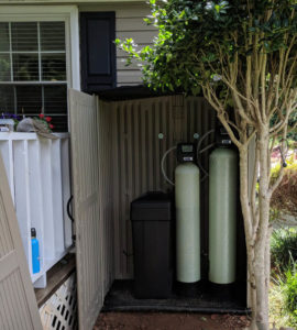 New Space For New Water Softener & Neutralizer