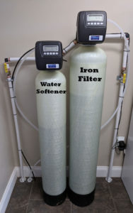New Iron Filter And Softener Solves Water Issues