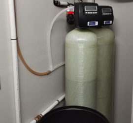 Existing Asheville Customer With Iron Filter Adds Softener