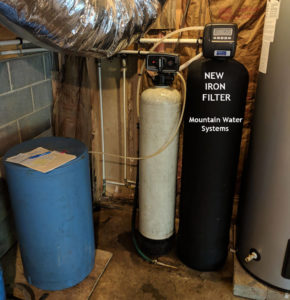 New Iron Filter Fixes Staining Issue For Asheville Customer