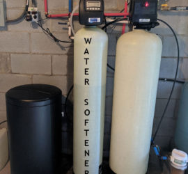 Water Softener Added With Iron Filter In Weaverville