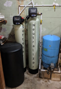 East Asheville Customer Upgrades Neutralizer & Softener