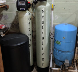 East Asheville Customer Upgrades Neutralizer & Softener