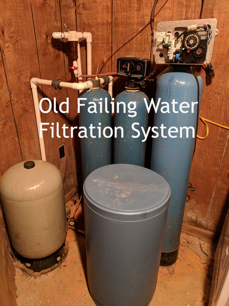 Comparison of the old System and the New filtration System