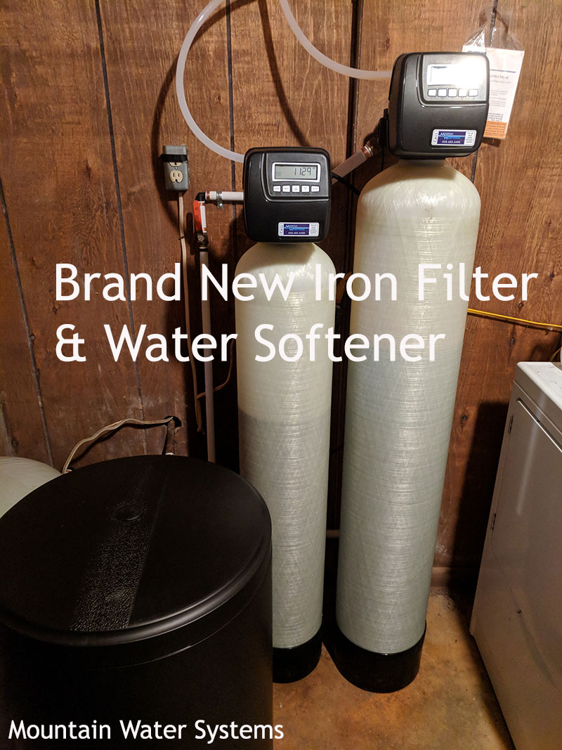 Upgraded Iron Fliter and Water Softener In Weaverville