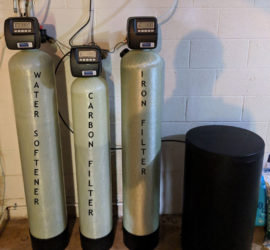 New Neutralizer, Carbon Filter and Softener