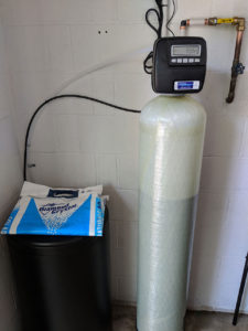 Woodfin Customer Water Hardness Fixed With Softener