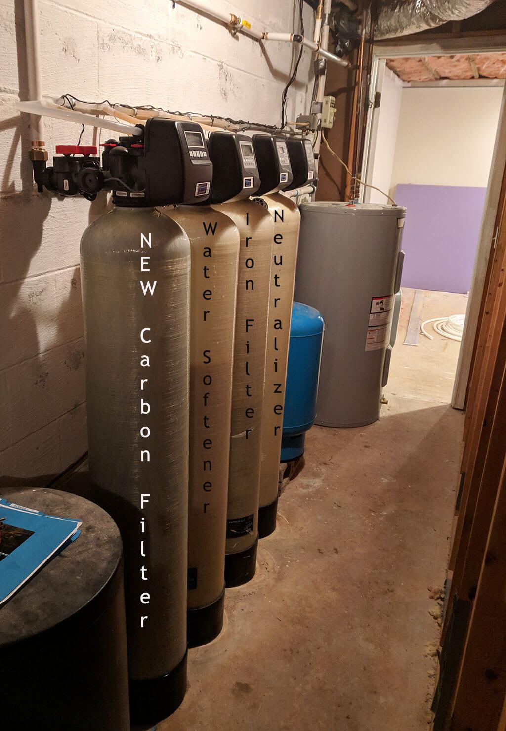 Asheville Customer Adds Carbon Filter