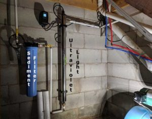 Barnardsville Customer gets a UV Light for Spring Water