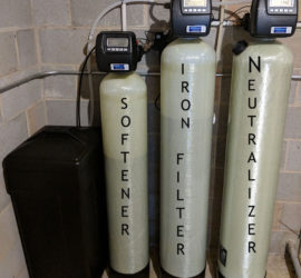 Iron Filter, Neutralizer and Water Softener Does The Job