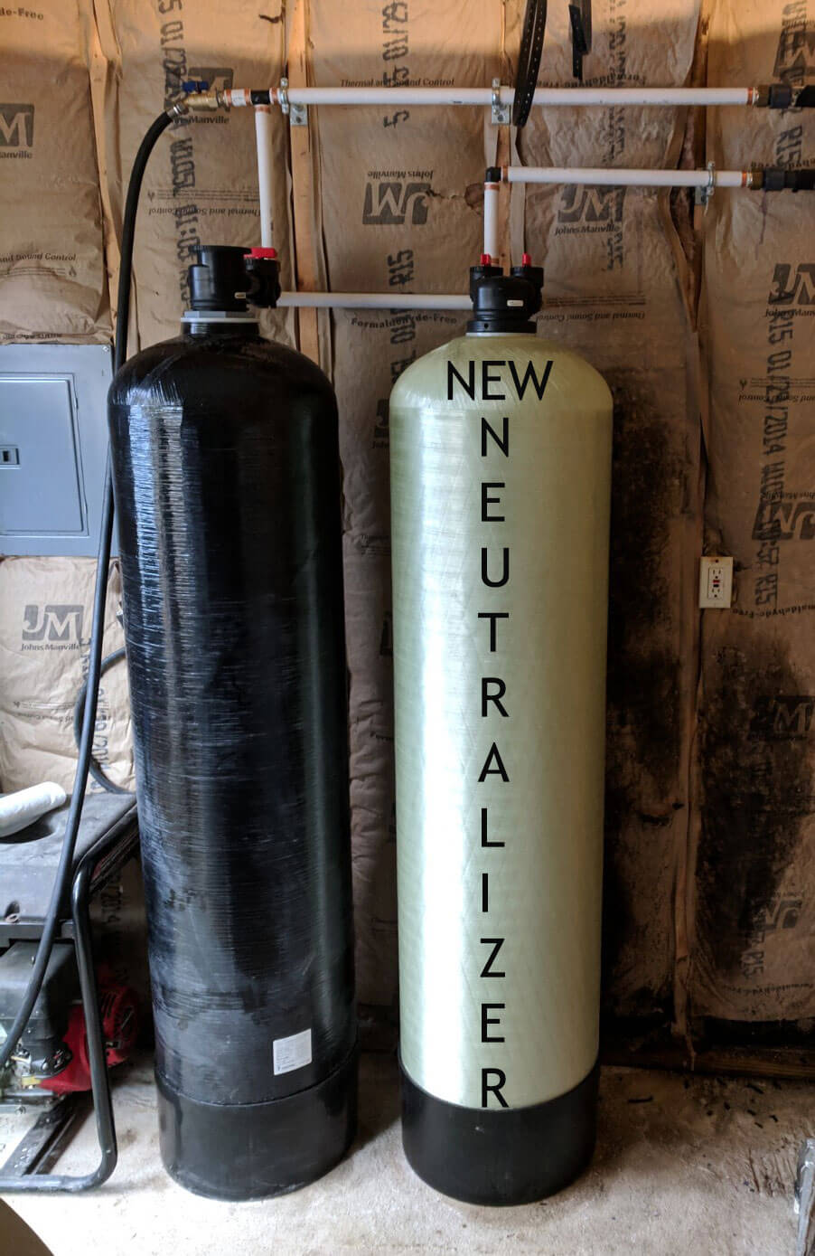 Large Neutralizer Added For Small Fairview Community Well