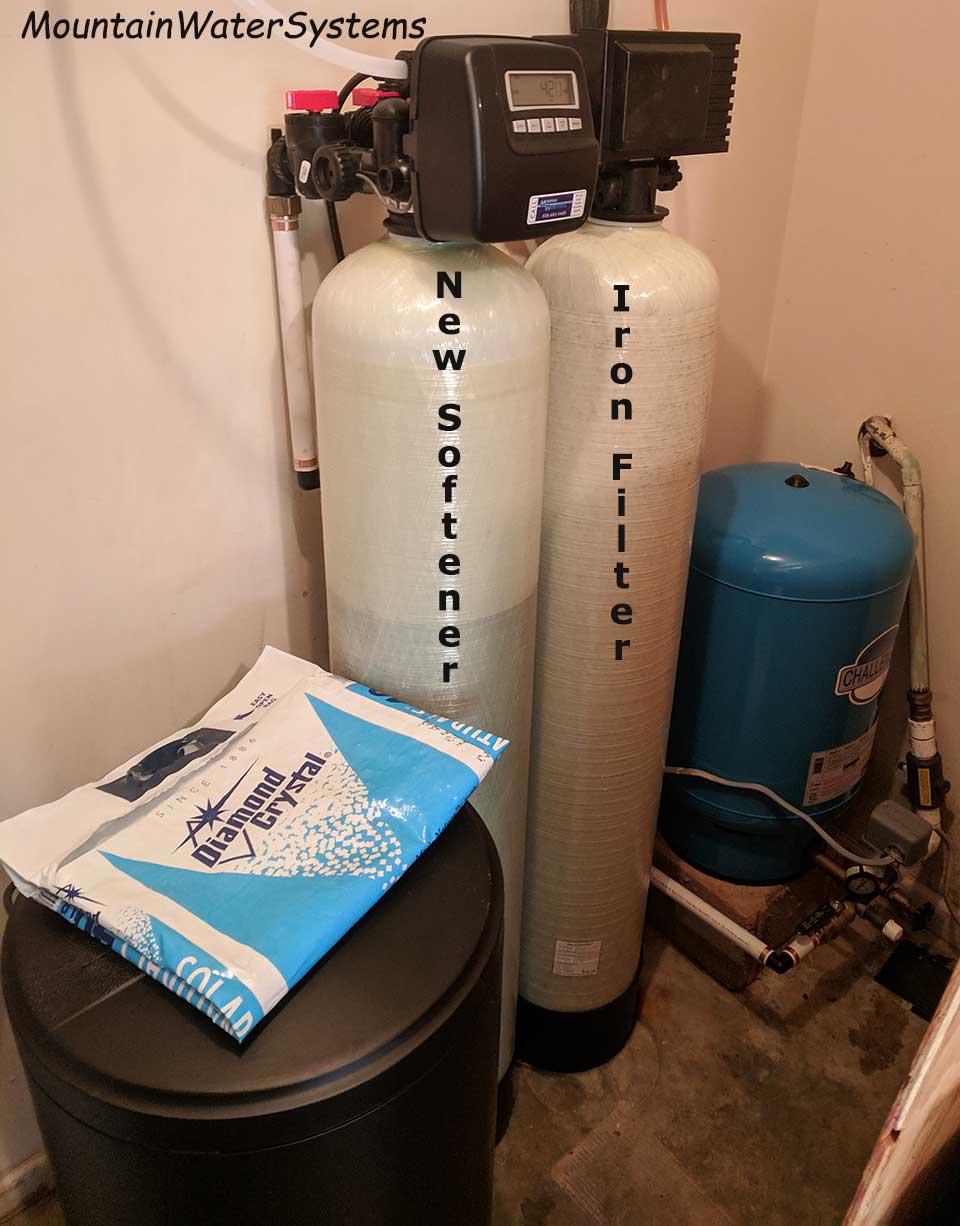 Asheville Customer Gets New Water Softener