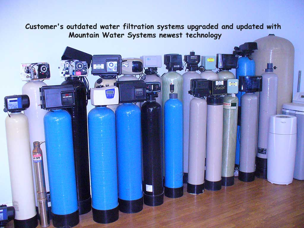 Old Water Filtration System From Our Customer's Upgrades