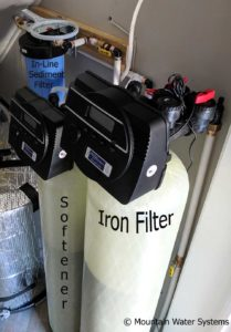 Discolored Well Water Gets New Customer Filtration System