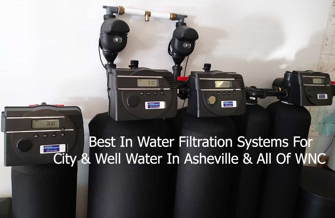 Softeners & Iron Filters For Your Water Issues In Asheville
