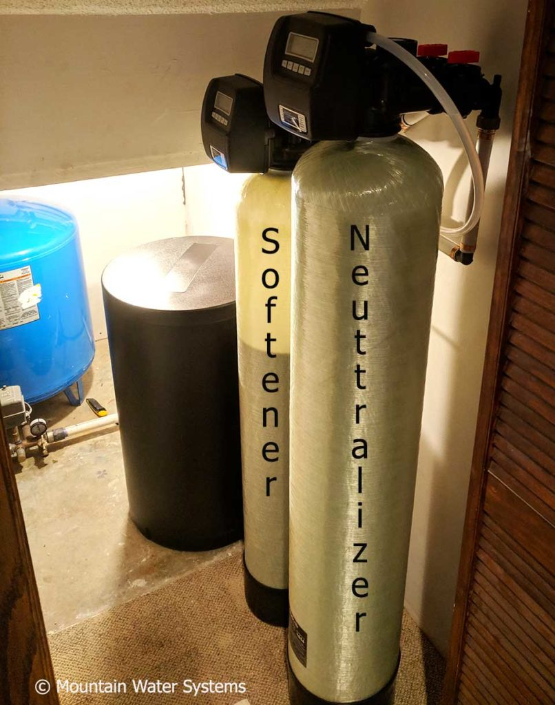 Customer in Swannanoa Gets Neutralizer and Softener to Fix Water