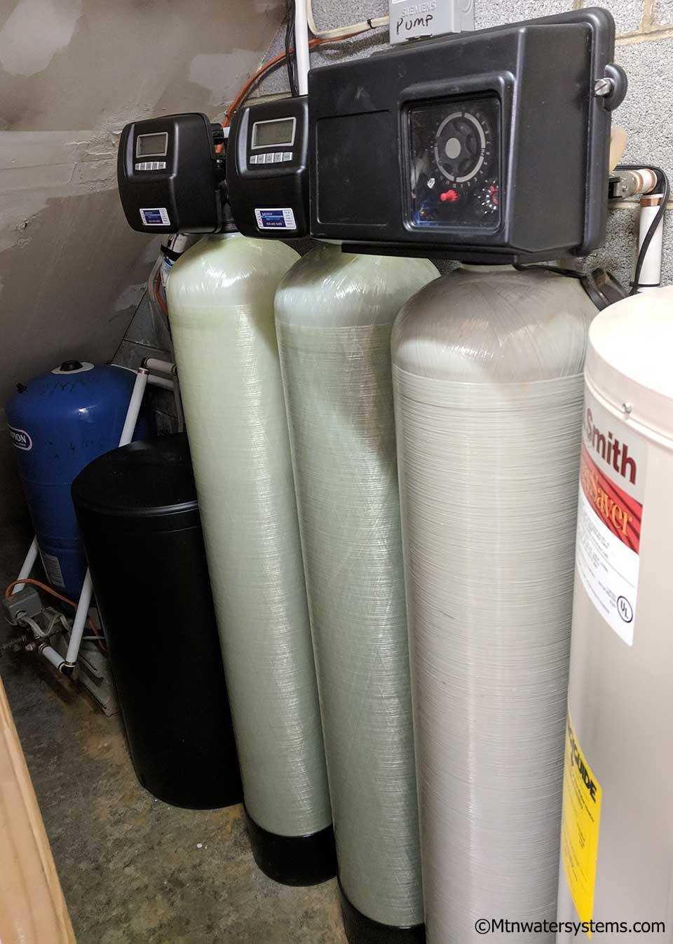 Asheville Customer Adds Softener and Iron Filter