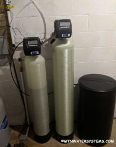 Neutralizer and Water Softener  Install Fixes Issue in East Asheville.