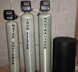 Neutralizer Iron Filter and Water Softener Installed