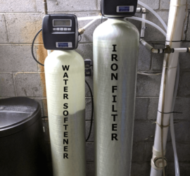 Asheville Customer removes Iron and Hard Water