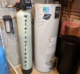 Alexander Customer Eliminates Hard Water with Softener