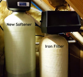 Weaverville Customer Now has Great Water With Softener