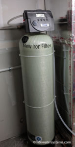 Iron water removed from new home