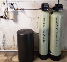 New Weaverville Homeowner Gets Iron Filter and Softener