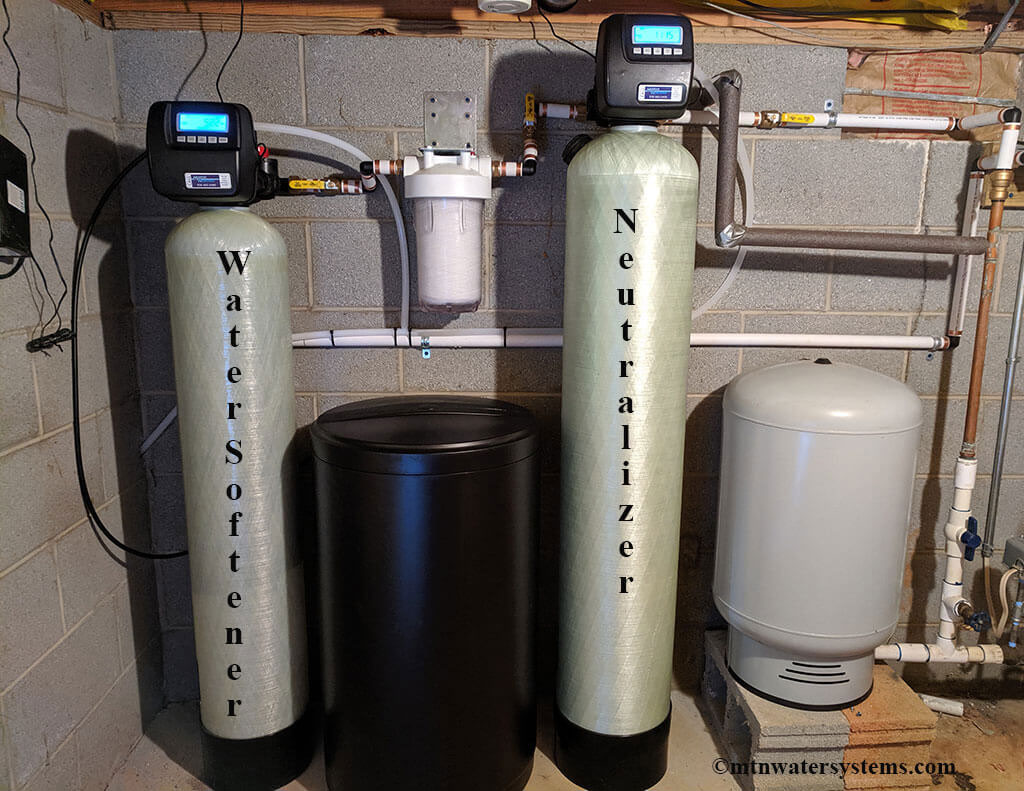 Existing Customer Gets Softener and Neutralizer