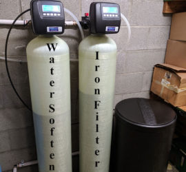 New Iron Filter and Softener in Asheville makes Asheville Family Happy