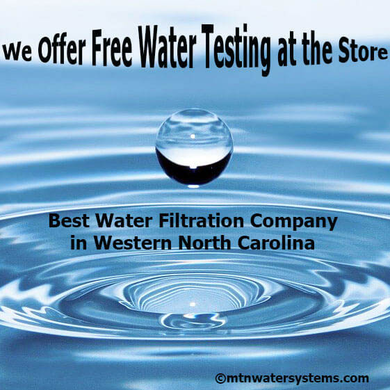 Free Water Testing with your Water Sample