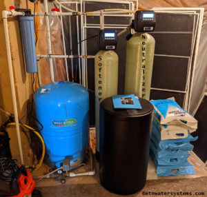 Neutralizer and Softener install equals Great Water!