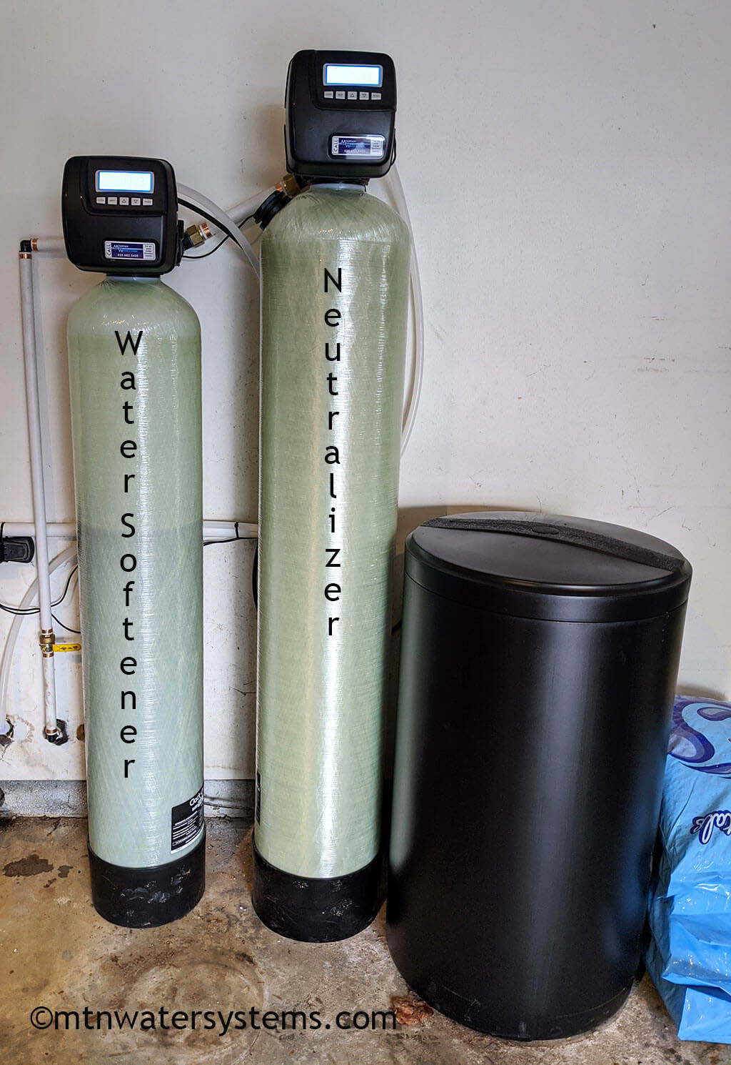 Neutralizer and Softener install in Asheville