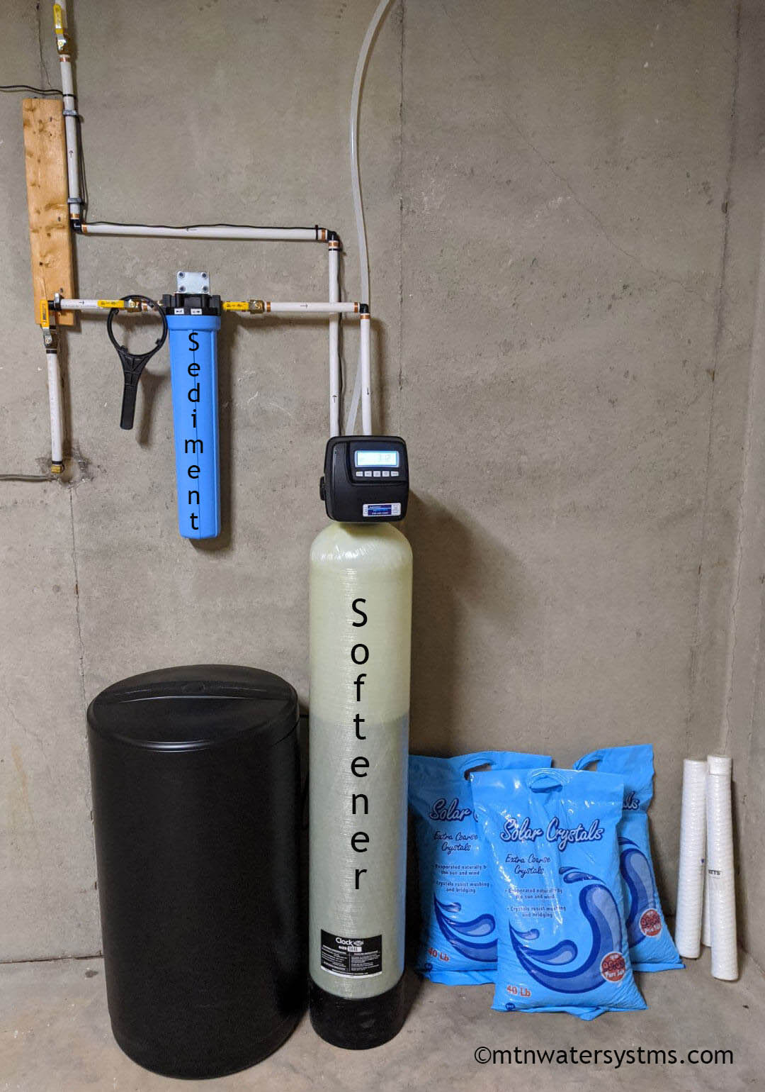 Customer In Flat Rock  Nc Gets Sediment Filter And Softener