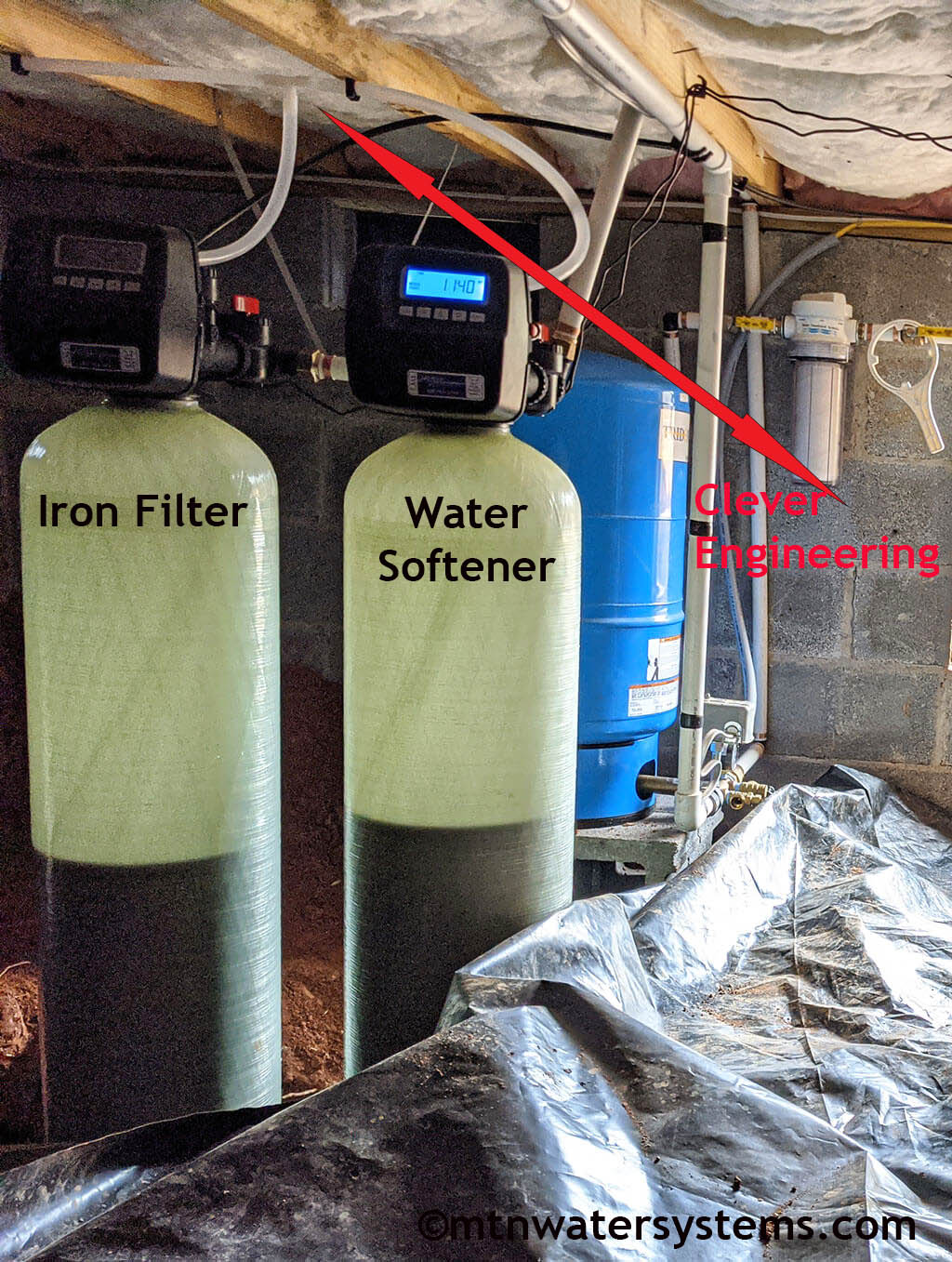 No More Water Hardness and Metallic taste in Weaverville