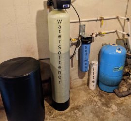 Softener and Sediment Filter does the Trick!
