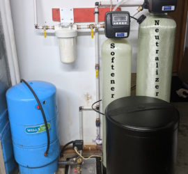 Neutralizer and Water Softener install Seals the Deal