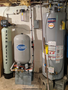 Burnsville family water is now iron free!